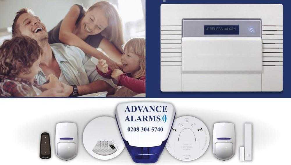advance security systems wi-fi enabled